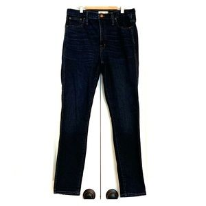 """Madewell 10"""" high-rise skinny jeans size 30"""